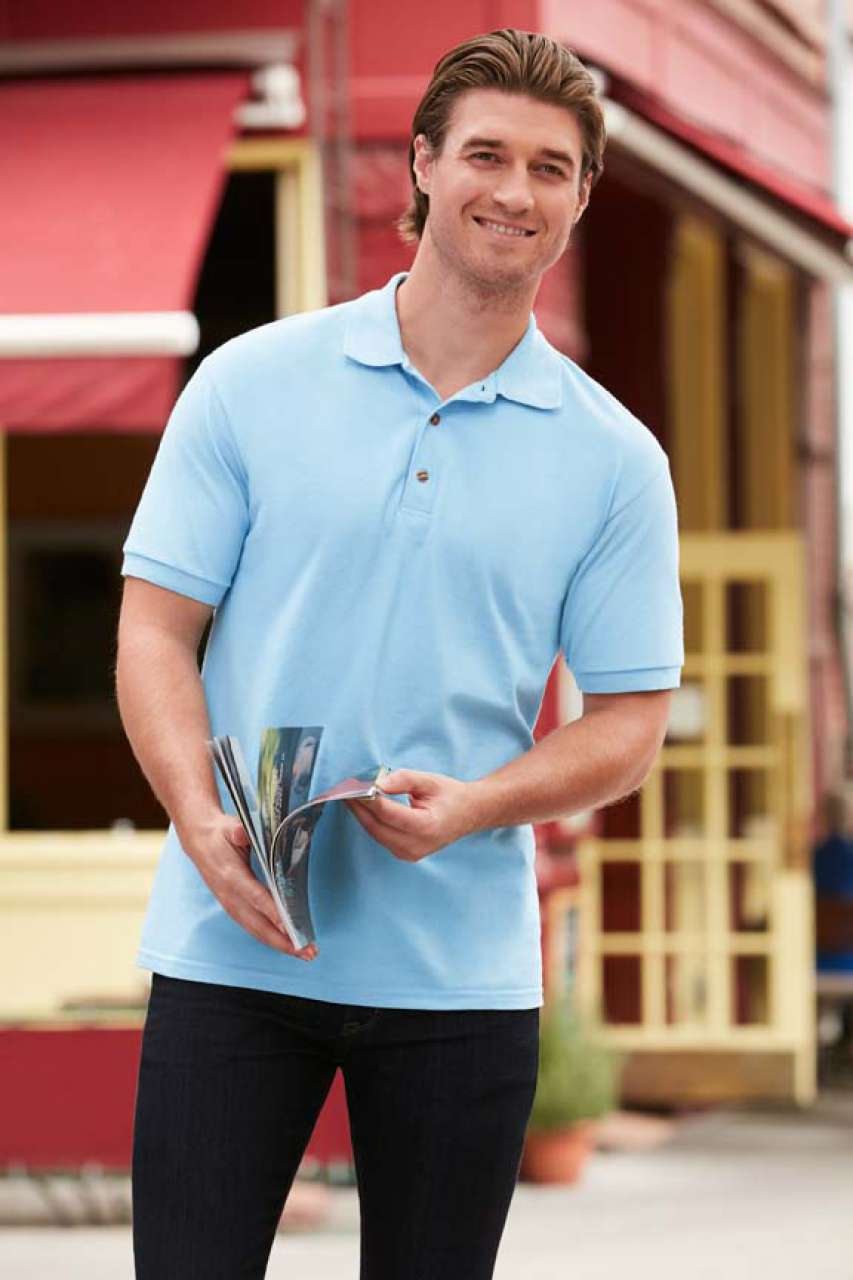 GI3800 ULTRA COTTON™ ADULT PIQUE POLO