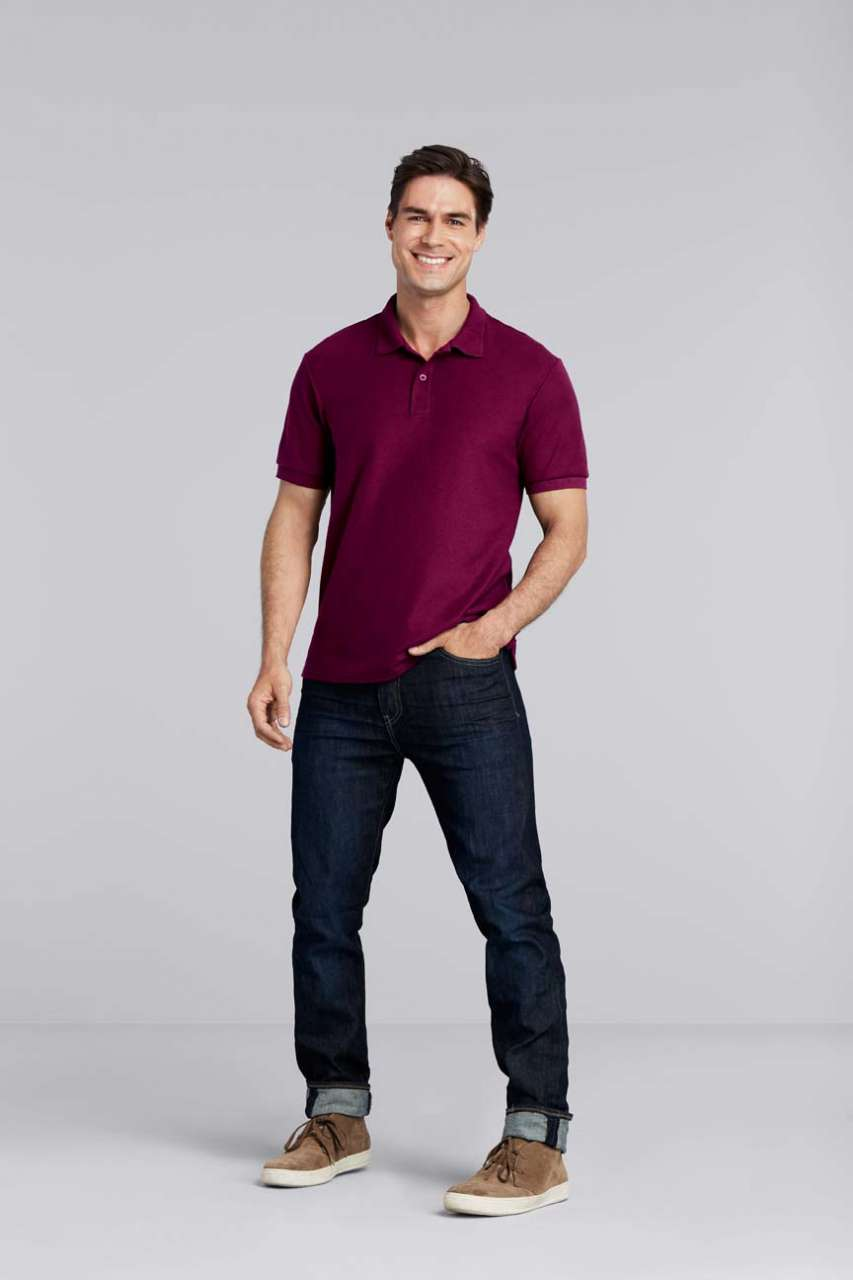 GI75800 DRYBLEND® ADULT DOUBLE PIQUÉ POLO