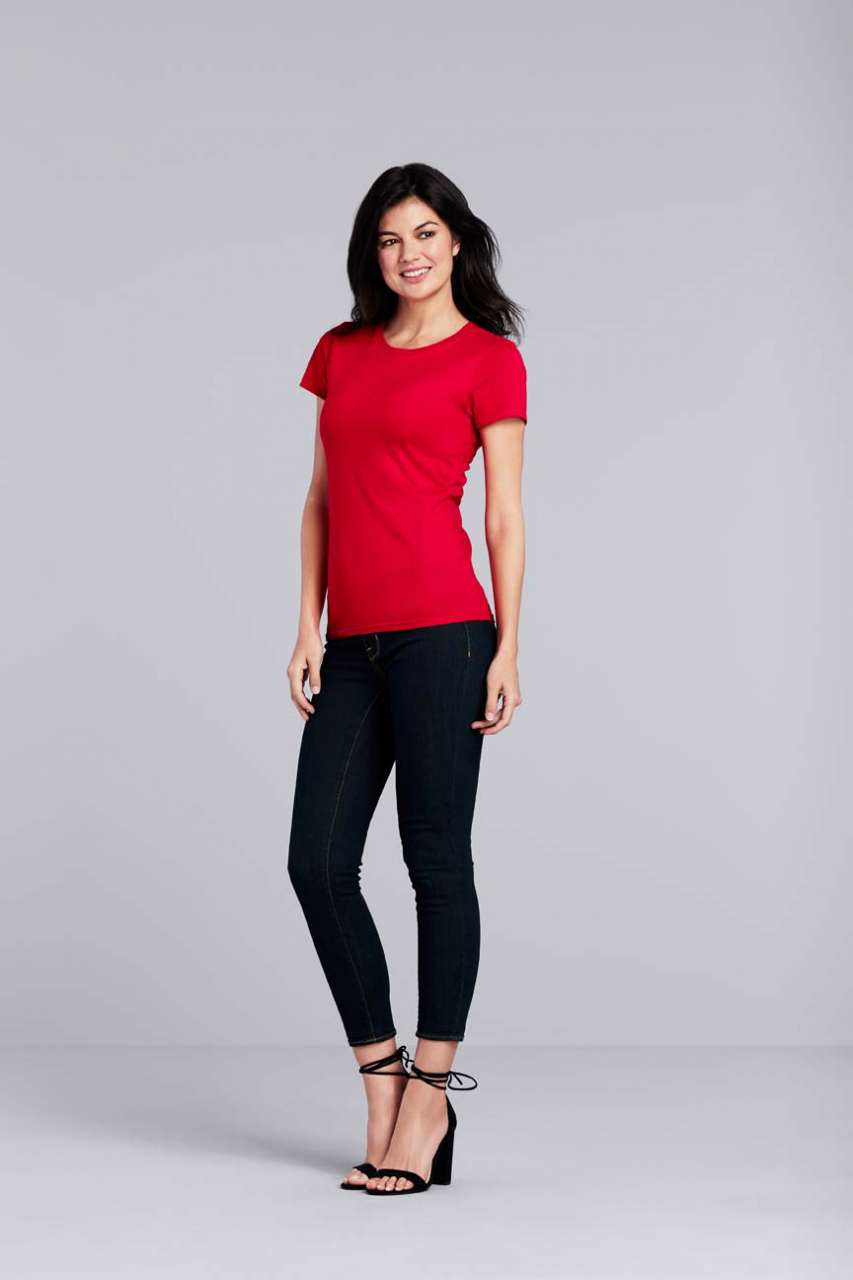 GIL4100 PREMIUM COTTON® LADIES' T-SHIRT