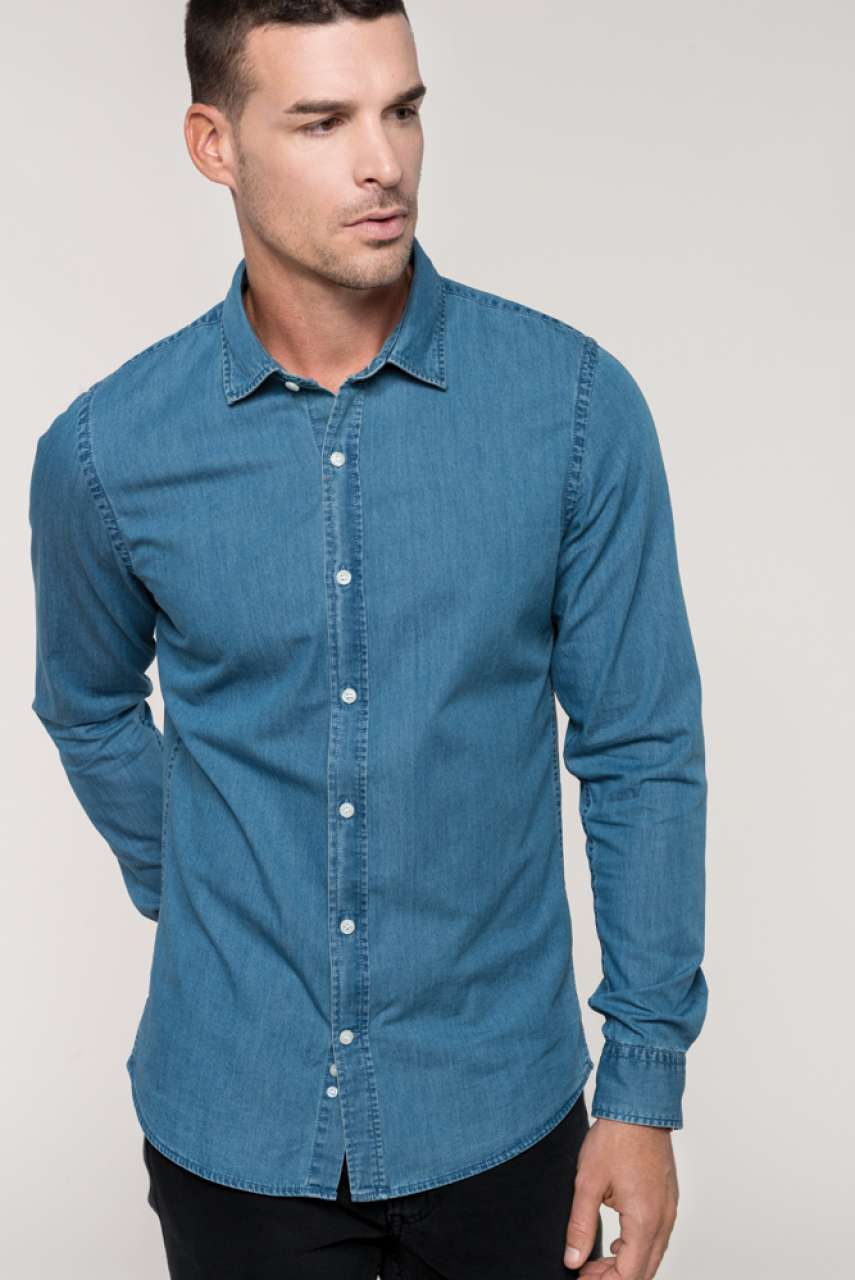 KA512 MEN'S CHAMBRAY SHIRT