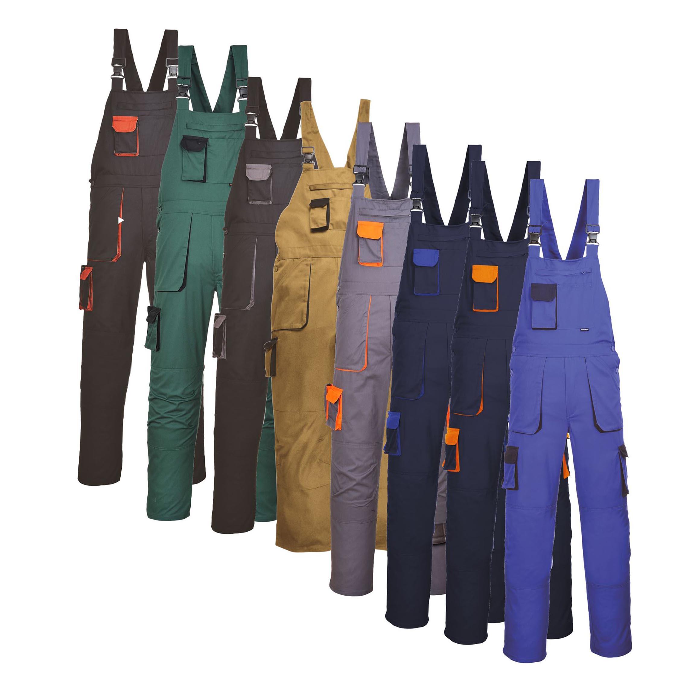 Radne hlače s naramenicama TX12