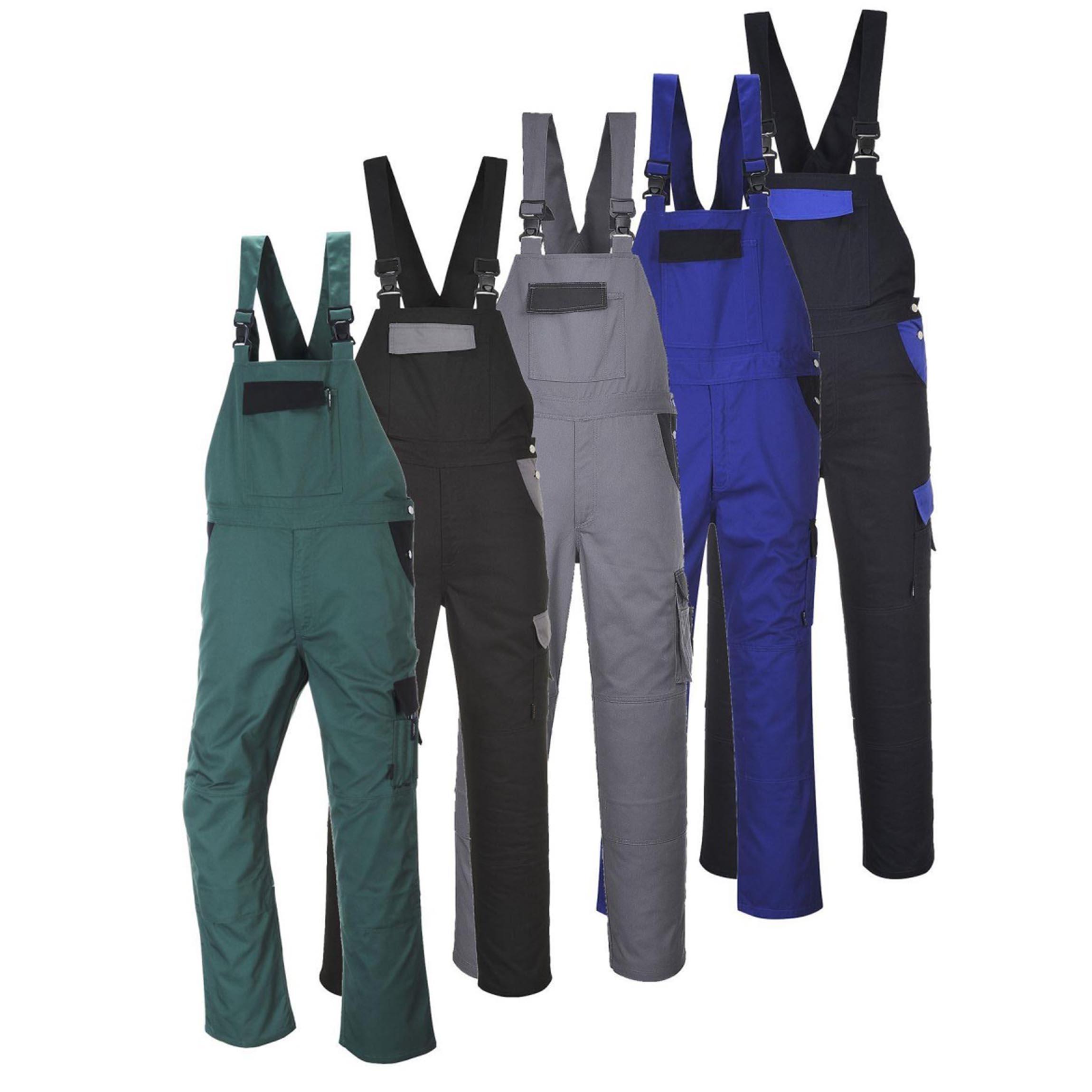 Radne hlače s naramenicama TX39