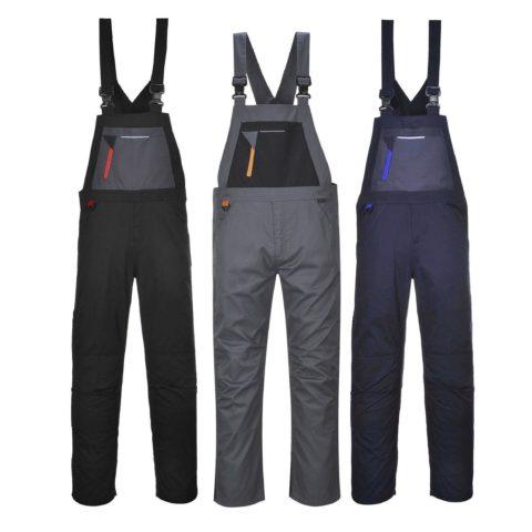Radne hlače s naramenicama TX62