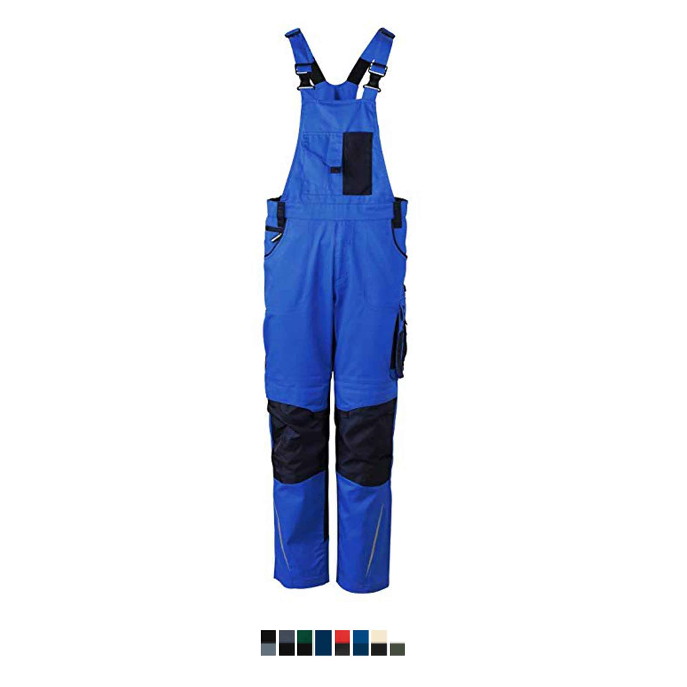 Radne hlače s naramenicama JN833
