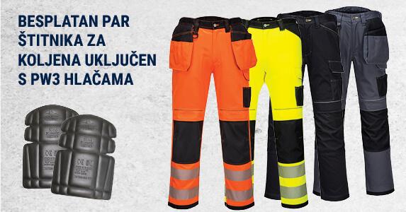 Besplatan par štitnika za koljena uključen s PW3 hlačama